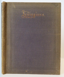 Irvingiana: A Memorial of Washington Irving. WASHINGTON IRVING, Charles Richardson, Compiler.