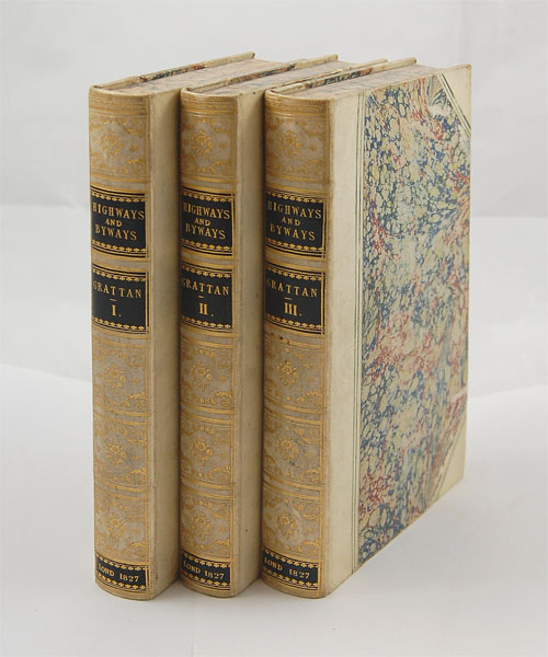 High-Ways and By-Ways; or, Tales of the Roadside, Picked Up in the French Provinces. By a Walking Gentleman. Third Series. THOMAS COLLEY GRATTAN.