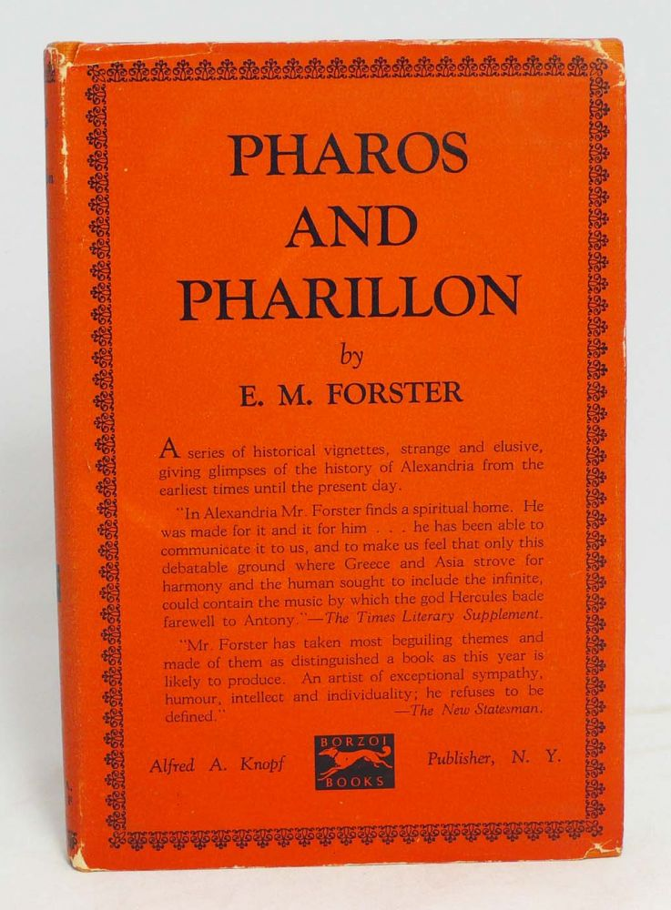 Pharos and Pharillon. EDWARD MORGAN FORSTER.