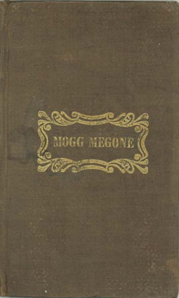 Mogg Megone, A Poem. JOHN GREENLEAF WHITTIER.