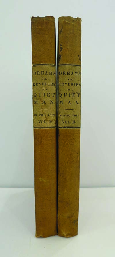 Dreams and Reveries of a Quiet Man, Consisting of the Little Genius, and Other Essays. By One of the Editors of the New-York Mirror. THEODORE SEDGWICK FAY.
