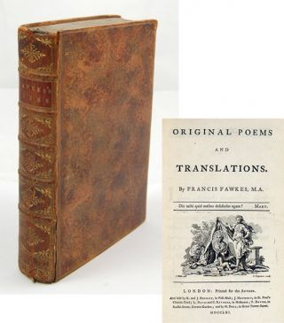 Original Poems and Translations. FRANCIS FAWKES