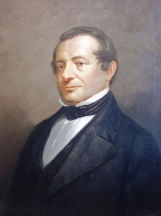 An oil portrait, signed by the artist, of Washington Irving. WASHINGTON IRVING, Charles A. Gray,...