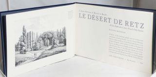 Le Desert de Retz: Le Jardin Pitoresque de Monsieur de Monville; A Late Eighteenth-Century French...