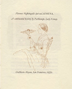 Florence Nightingale's Pet Owl, Athena, A Sentimental History. LADY PARTHENOPE VERNEY