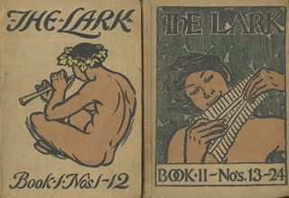 The Lark . . . Nos. 1-24 + The Epilark [all published]. GELETT AND BRUCE PORTER BURGESS,