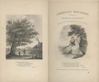 American Melodies; Containing a Single Selection from the Productions of Two Hundred Writers....