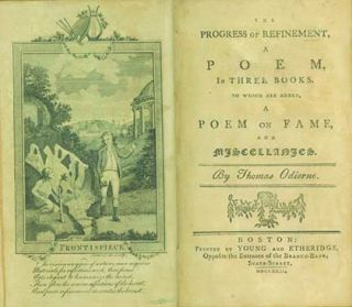 The Progress of Refinement, A Poem, in Three Books. To Which are Added, A Poem on Fame, and...