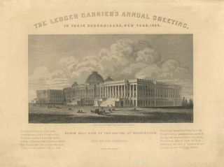 The Ledger Carrier's Annual Greeting. To Their Subscribers, New Year, 1858 [caption-title]....