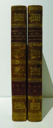 Memoirs of the Margravine of Anspach. Written by Herself.