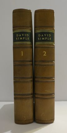The Adventures of David Simple: Containing An Account of his Travels through the Cities of London and Westminster, in the Search of A Real Friend. By a Lady.
