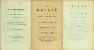 A collection of over 150 English Plays from 1750 to 1800, all first or significant, early...